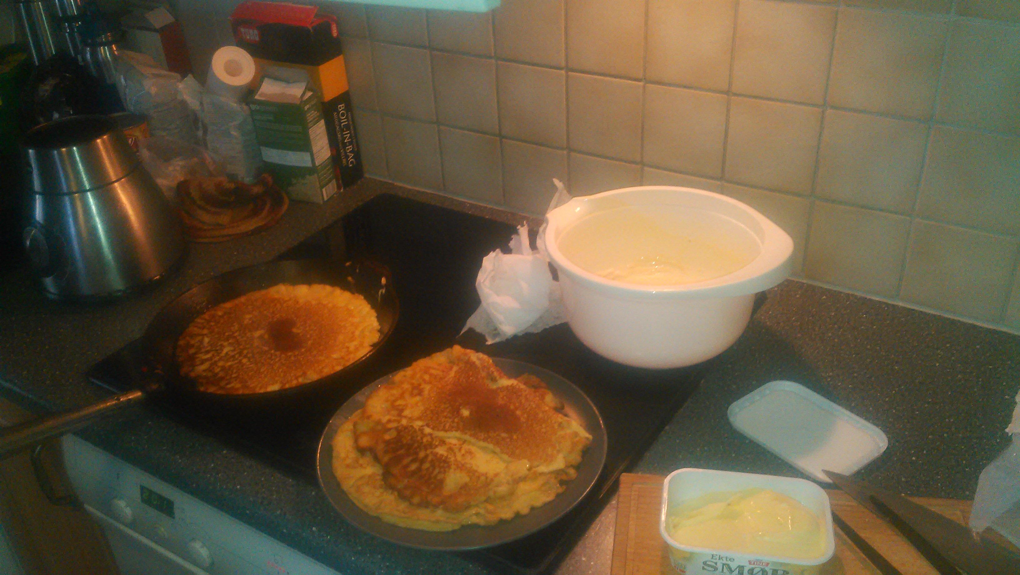Akevitt pancakes