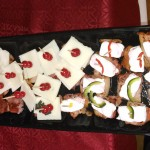 Bacon canape