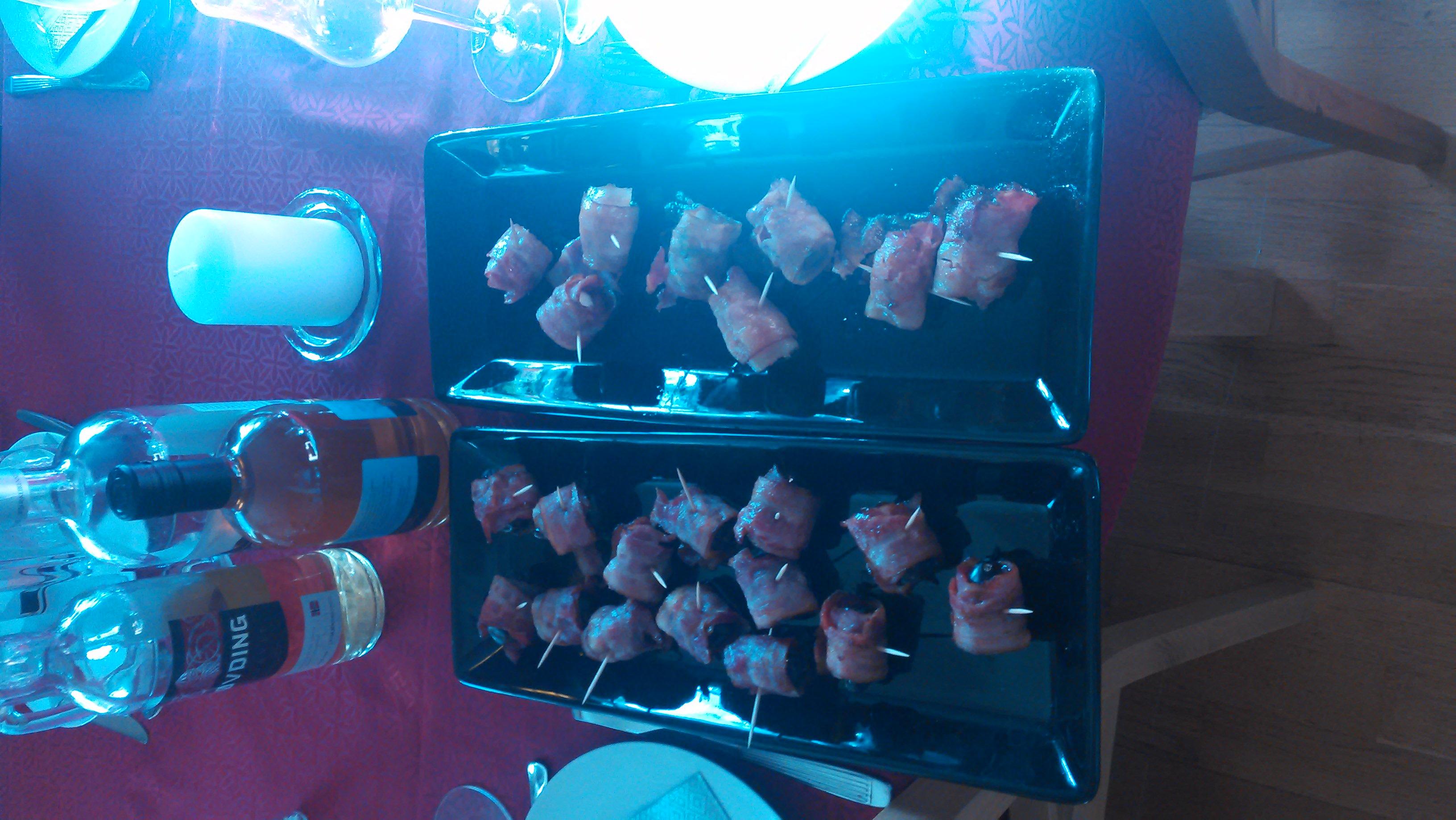 Bacon finger food