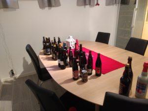 Christmas beer lineup